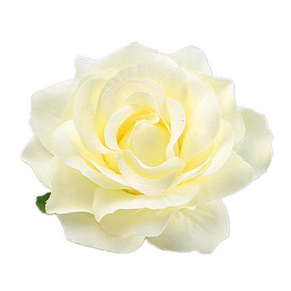 Great interest LEFV 6pcs Rose Flower Hair Clip 4inch National products Floral Pin Hairpin Brooch