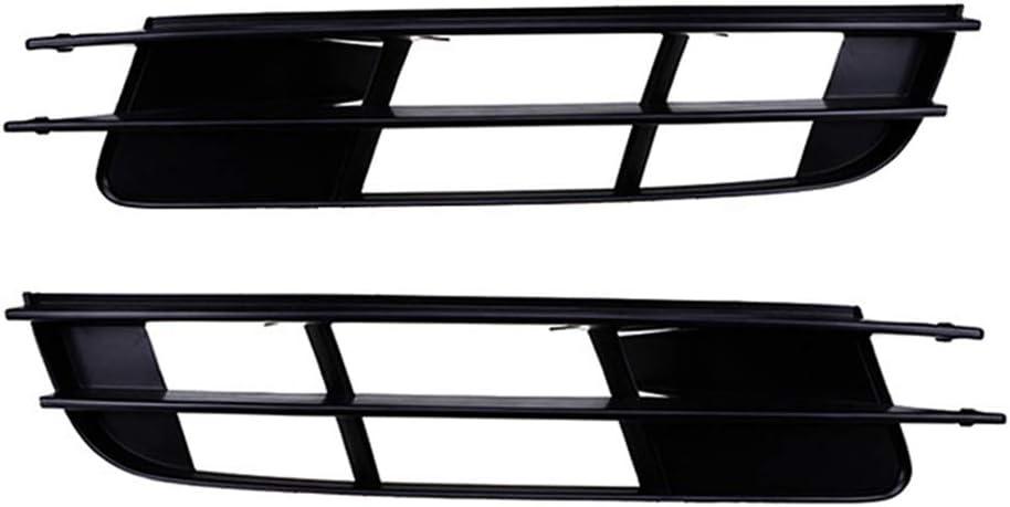 Q7 2007 2008 2009 4L0807681 Mogzank Rejilla de Luz Antiniebla Derecha del Coche Rejilla de Cubierta de Parachoques Inferior Delantero de Coche de Pl/áStico Negro para