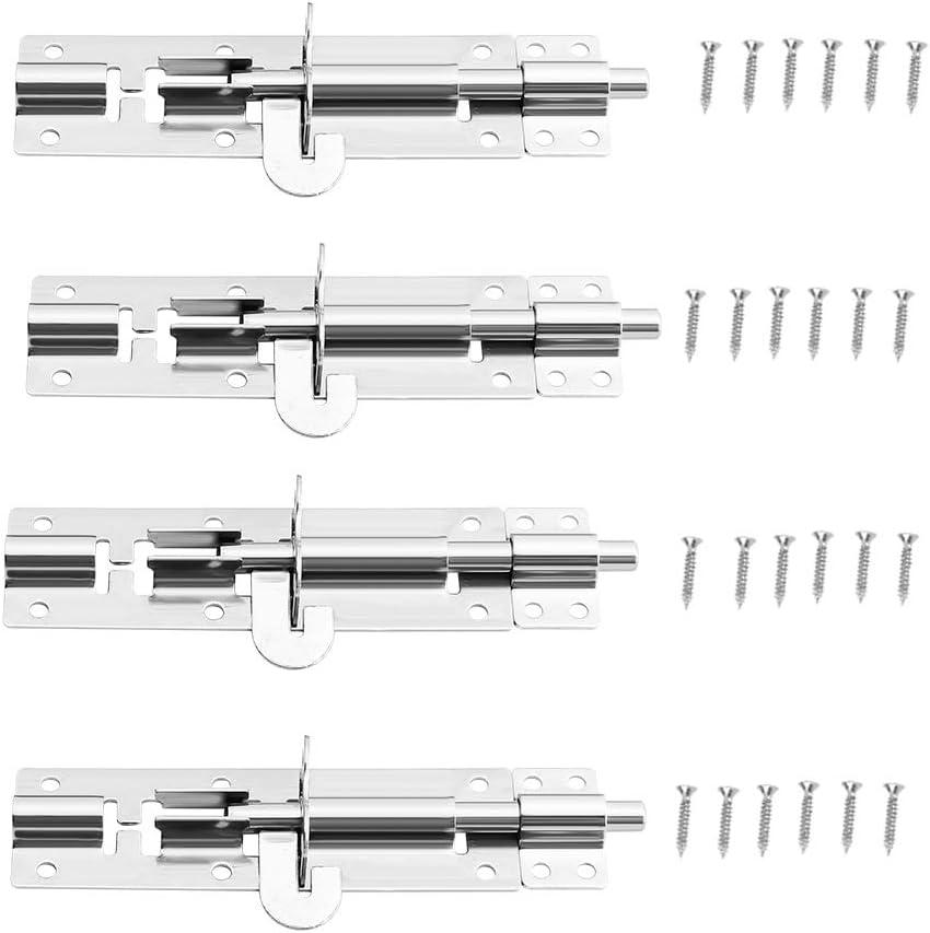 XMRISE Door Sliding Lock Window Padlock Catch Gate Cla Hook free Max 44% OFF shipping
