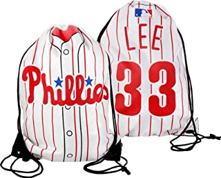 Philadelphia Phillies Lee C. #33 Drawstring Backpack