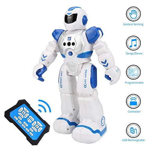 E-More Recargable Robot Juguete, Programación Inteligente Sensación...
