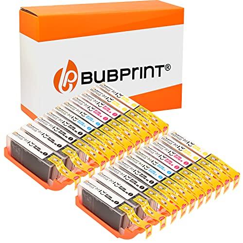 Bubprint 570 571 Kompatibel Druckerpatronen als Ersatz für Canon PGI-570 CLI-571 XL für Pixma MG5700 MG5750 MG5752 MG5753 MG6850 MG6852 MG7750 TS5000 TS5050 TS5053 TS5055 TS6050 TS8050 Multipack