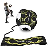 Fußball Kick Trainer,Fußball Trainingsgeräte Hands Free Solo ,Soccer Practice Training mit...