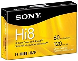 Sony Hi8 Metal Particle Hi8 tape - 1 x 120min (P6120HMPR) -