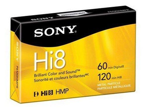 Buy Discount Sony Hi8 Metal Particle Hi8 tape – 1 x 120min (P6120HMPR) –