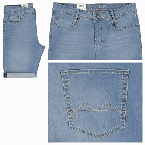 MAC JEANS Herren Arne Bermuda Shorts, Blau (Light Summer Used H227), W34 / L10