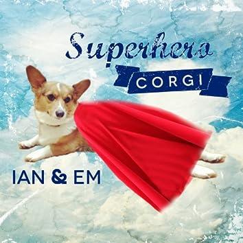 Superhero Corgi - Single