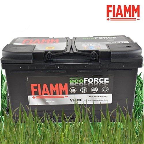 BATTERIA FIAMM ECOFORCE AGM VR800 80Ah 800A EN - DX START&STOP MHD