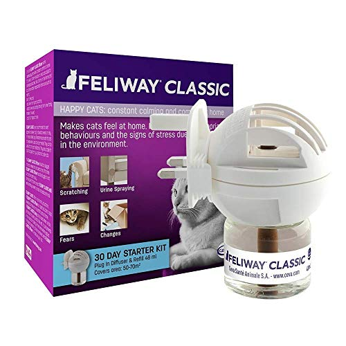 Ceva Animal Health C23830c Feliway Starter Kit Diffuser, 48ml (Оne Расk)