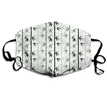 Comfortable Windproof Mask,Beach Hammock Lonely Island Elements with Hammocks and Palm Trees Among The Sun Multicolor,Printed Facial Decorations for Adult