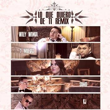 Lo Que Quiero De Ti (feat. 7muekas, Samo & Kj)