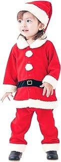 Moent, Conjunto de 6 meses a 3 años para bebé de Navidad, pantalones y calcetines, para niños pequeños, niñas, demonio, calabaza, estilo Papá Noel, traje de bebé