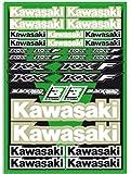MX Enduro Aufkleber Sponsoren Sticker vorgestanzt Kawasaki
