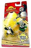 Kung Fu Panda Movie Figure 2-Pack Po & Rhino Commander by Kung Fu Panda