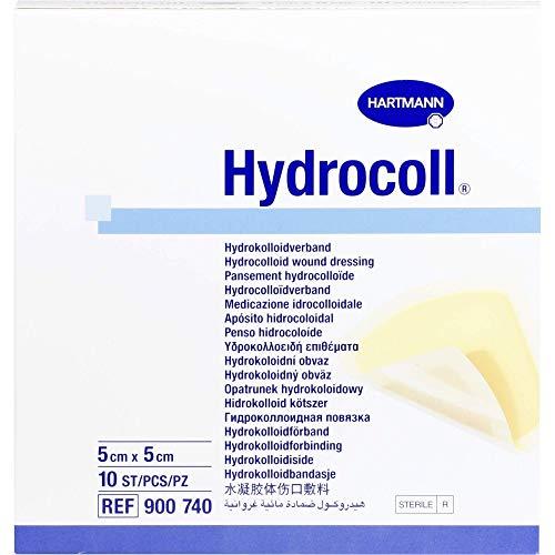 HYDROCOLL Wundverband 5x5 cm 10 St