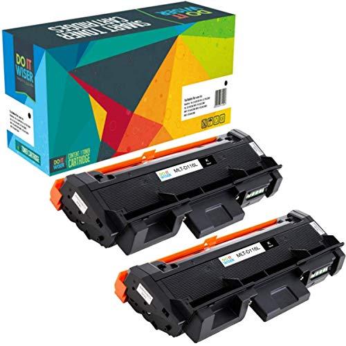 Do it Wiser Kompatible Toner als Ersatz für Samsung Xpress M2835DW M2875FD M2625 M2626 M2675 M2676 M2825 M2826 M2876 M2885 (Schwarz, 2er-Pack)