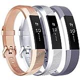 Tobfit Bracelet pour Fitbit Alta/Fitbit Alta HR Replacement en TPU Confortable...