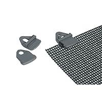 Bo-Camp 4217000 - Tarp clips, 4 units, grey
