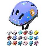 meteor Casco Bici ideale per bambini Caschi perfetto per Downhill Enduro Ciclismo MTB Scooter Helmet Ideale per Tutte Le Forme di attività in Bicicletta Helmo (XS 44-48 cm, garden)
