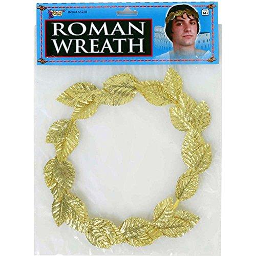 Roman Gold Leaf Wreath Headpiece Costume Accessory