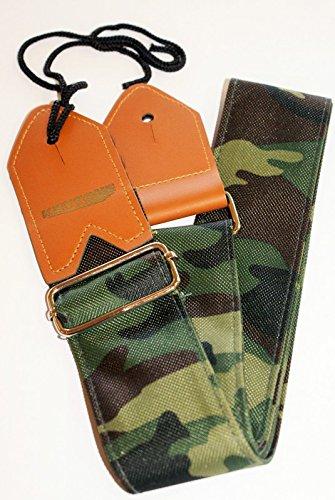 Gitarrengurt Nylon Camouflage-Design universal Riemen