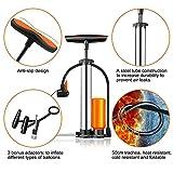 Zoom IMG-2 pompa per bicicletta gonfiatore bici