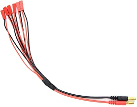 WMYCONGCONG 1 PCS JST Parallel Charge Cable to 4mm Banana Plug for Lipo Battery 1S 2S Charging Cable