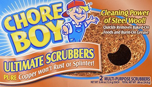 Spic And Span The Company 002152ct 2count Copper Chore Boy Scrubbers by Spic & Span
