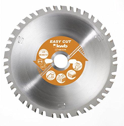 kwb Easy-Cut Allzweckblatt für Kapp- und Gehrungssägen 593033 (300 x 30 mm, 48 Zähne, Spezial-Wechselzahn)