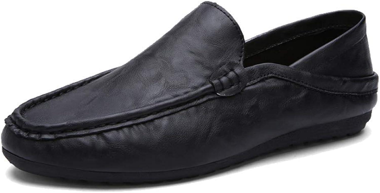 JCZR Men's Business Casual shoes Driving shoes A Pedal Lazy shoes