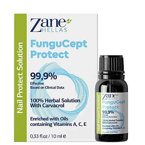 Zane Hellas Fungucept Nail Protect. Protection contre les champignons .Pas plus de rougeurs,de démangeaisons autour de l'ongle ou de décoloration des