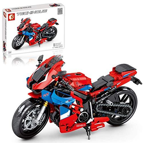 CYGG Modelo de Motorbike Technic, Kit de construcción de 857pcs para Ducati Panigale Motorycle Model, Conjuntos de Bloques de construcción compatibles con Lego Technic