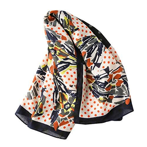 Bellette Mujer Bufandas Estolas fulares Chales Cuadrado Bufanda Accesorios
