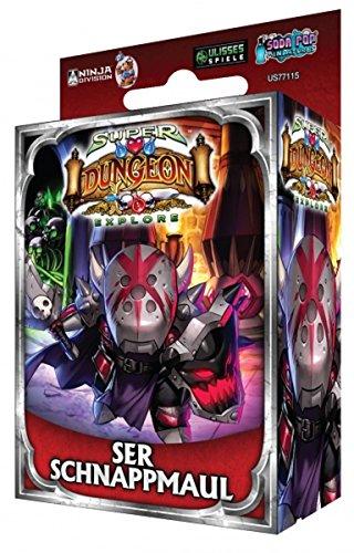 Super Dungeon Explore: • Erweiterung Ser Schnappmaul Deutsche Version