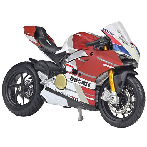ZZH 2020 Ducati Panigale V4 S Corse Special Edition Modell Motorrad Kit 1:18 Maßstab,A