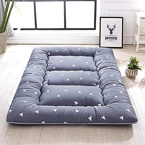 Colchón futón japonés plegable Tatami Mat portátil colchón de camping para niños, suave y cómodo (tamaño: 150 x 200 cm, color: A)