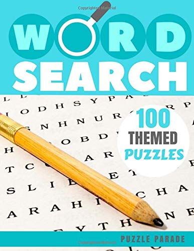100 Word Search Puzzles: 100 Large Word Searches For Adults, Themed and Shaped