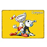 GKUNOI Retro Man Cave Videojuego Regalo para niños Metal Cartel de Chapa Bar Café Club Casa Decoración Placa de Pared 20x30cm YD1017