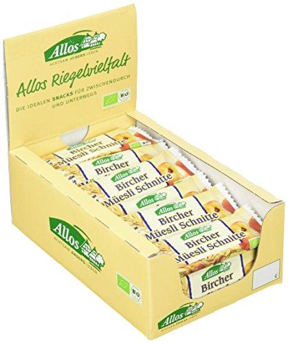 Allos Birchers Müslischnitte, 25er Pack (25 x 30 g)