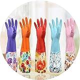 1 par de guantes de limpieza con banda elástica para cocina