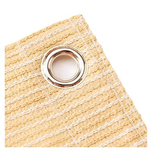 LSSB 90% Solar Sombra Paño Malla De Sombra Respirable Anti-envejecimiento HDPE Vela De Sombra con Ojales para Exterior Patio Cubierta De Pérgola Porche Pantalla Vertical, Personalizable
