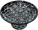Alittle Bolas de Agua Transparentes de 10 g Cristal Aqua Gel Bola de Suelo Biodegradable no tóxica para decoración de Centro de Mesa, Rellenos de jarrón para Fiestas, Paquete de 1