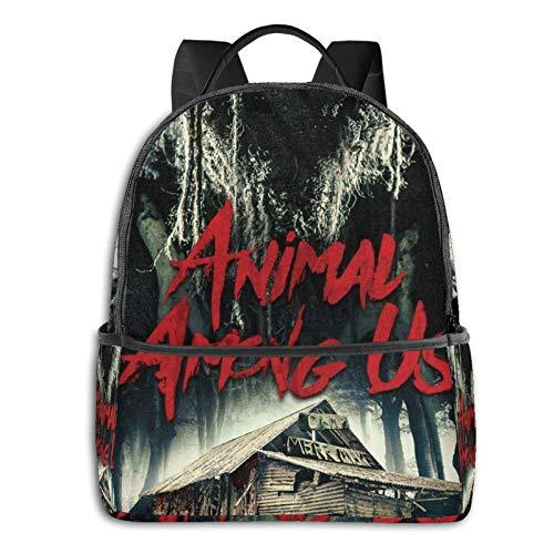 AOOEDM Backpack Animal Am-ong Us Mochila Delgada para computadora portátil con Puerto de Carga USB, Bolsa de...