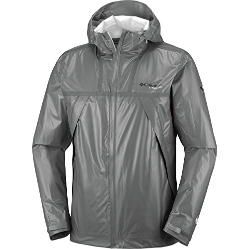Columbia Titanium Outdry Ex Eco Shell Jacket - Men's Bamboo Charcoal, XL