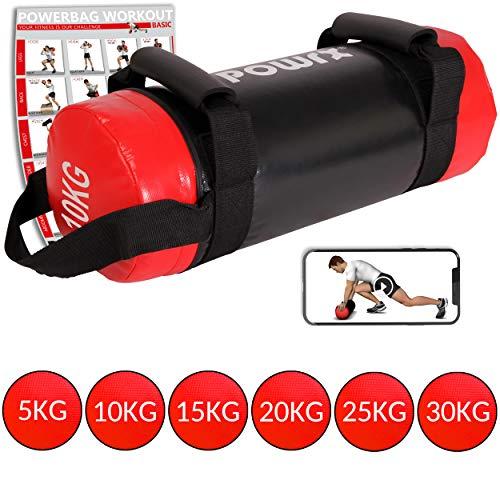 POWRX - Sandbag 5-30 kg - Perfetta per Migliorare...