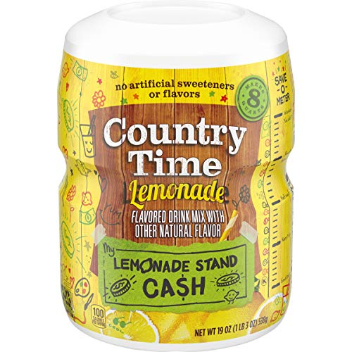 Country Time Lemonade Drink Mix (19 oz Canister)