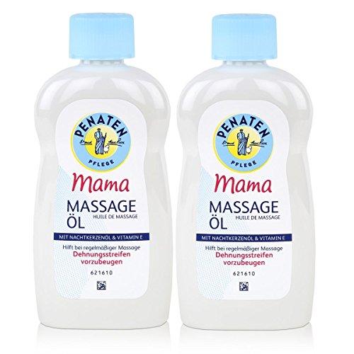 2 x soins pénates maman massage huile 100 % végétaintroduction d'huile 200 ml