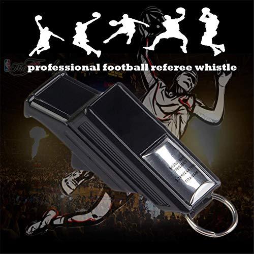 Neckip Trillerpfeife – Profi Schiedsrichterpfeife 130 Dezibel Signalpfeifen Professioneller Fußball-Basketball-Volleyball-Schiedsrichter-Trainer Pfeife