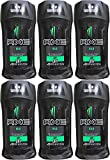 Axe Antiperspirant Deodorant Stick, Kilo, 2.7 Ounce (Pack of 6)