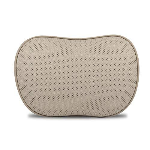 Productos Interiores reposacabezas de Cuero del Coche Conjunto de Soporte Lumbar Memoria de algodón Almohada para el Cuello Almohadilla de la Cintura Almohada de Cuero Cuatro Estaciones Interior